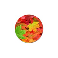 Autumn Leaves 1 Golf Ball Marker by trendistuff