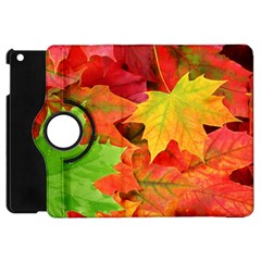Autumn Leaves 1 Apple Ipad Mini Flip 360 Case