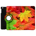 AUTUMN LEAVES 1 Apple iPad Mini Flip 360 Case Front