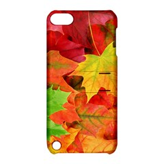 Autumn Leaves 1 Apple Ipod Touch 5 Hardshell Case With Stand by trendistuff
