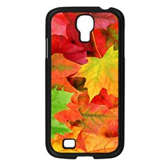 Autumn Leaves 1 Samsung Galaxy S4 I9500/ I9505 Case (black) by trendistuff