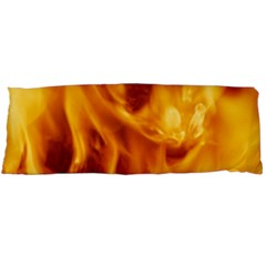 Yellow Flames Body Pillow Cases (dakimakura)  by trendistuff
