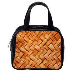 Woven Straw Classic Handbags (one Side) by trendistuff