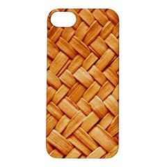 Woven Straw Apple Iphone 5s Hardshell Case by trendistuff