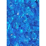 TURQUOISE GLASS You Rock 3D Greeting Card (7x5)  Inside