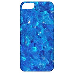 Turquoise Glass Apple Iphone 5 Classic Hardshell Case by trendistuff