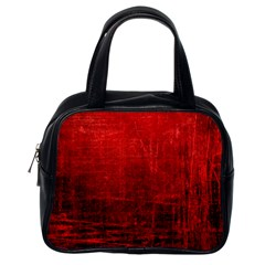 Shades Of Red Classic Handbags (one Side) by trendistuff