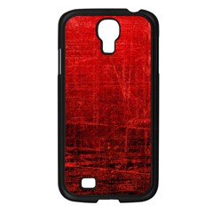 Shades Of Red Samsung Galaxy S4 I9500/ I9505 Case (black) by trendistuff