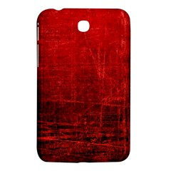 Shades Of Red Samsung Galaxy Tab 3 (7 ) P3200 Hardshell Case  by trendistuff