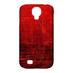 Shades Of Red Samsung Galaxy S4 Classic Hardshell Case (pc+silicone) by trendistuff
