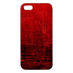 Shades Of Red Iphone 5s Premium Hardshell Case by trendistuff