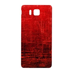 Shades Of Red Samsung Galaxy Alpha Hardshell Back Case by trendistuff