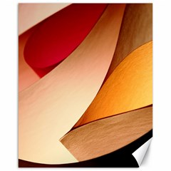 Pretty Abstract Art Canvas 16  X 20   by trendistuff