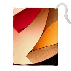 Pretty Abstract Art Drawstring Pouches (xxl) by trendistuff