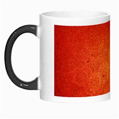 Orange Dot Art Morph Mugs by trendistuff