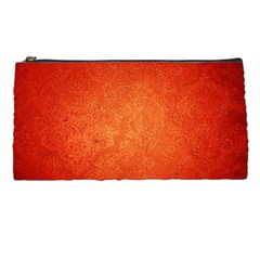 Orange Dot Art Pencil Cases by trendistuff