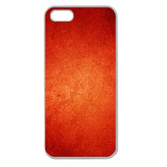 ORANGE DOT ART Apple Seamless iPhone 5 Case (Clear)