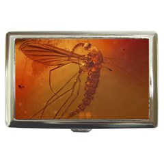 Mosquito In Amber Cigarette Money Cases by trendistuff