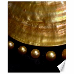 Golden Pearls Canvas 16  X 20   by trendistuff