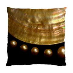 Golden Pearls Standard Cushion Case (one Side)  by trendistuff