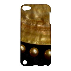 Golden Pearls Apple Ipod Touch 5 Hardshell Case by trendistuff