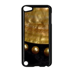 Golden Pearls Apple Ipod Touch 5 Case (black) by trendistuff