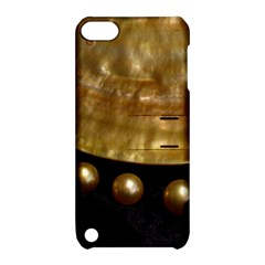 Golden Pearls Apple Ipod Touch 5 Hardshell Case With Stand by trendistuff