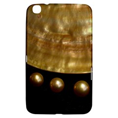 Golden Pearls Samsung Galaxy Tab 3 (8 ) T3100 Hardshell Case  by trendistuff