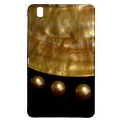 Golden Pearls Samsung Galaxy Tab Pro 8 4 Hardshell Case by trendistuff