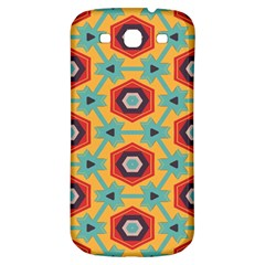 Stars And Honeycomb Pattern Samsung Galaxy S3 S Iii Classic Hardshell Back Case by LalyLauraFLM