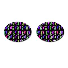 Misc Shapes Cufflinks (oval) by LalyLauraFLM