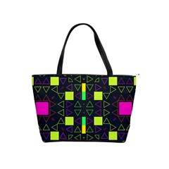 Triangles And Squares Classic Shoulder Handbag by LalyLauraFLM