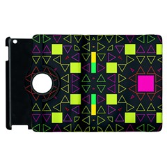 Triangles And Squares Apple Ipad 3/4 Flip 360 Case by LalyLauraFLM