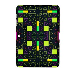 Triangles And Squares Samsung Galaxy Tab 2 (10 1 ) P5100 Hardshell Case  by LalyLauraFLM