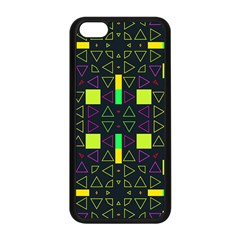 Triangles And Squares Apple Iphone 5c Seamless Case (black) by LalyLauraFLM