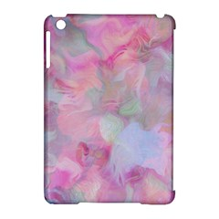 Soft Floral Pink Apple Ipad Mini Hardshell Case (compatible With Smart Cover) by MoreColorsinLife