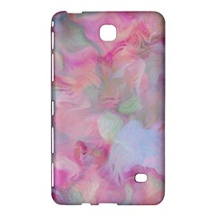 Soft Floral Pink Samsung Galaxy Tab 4 (7 ) Hardshell Case  by MoreColorsinLife
