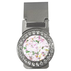 Soft Floral, Spring Money Clips (cz)