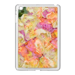 Soft Floral,roses Apple Ipad Mini Case (white) by MoreColorsinLife