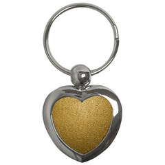 Gold Plastic Key Chains (heart)  by trendistuff