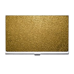 Gold Plastic Business Card Holders by trendistuff