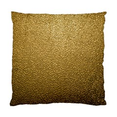 Gold Plastic Standard Cushion Case (one Side)  by trendistuff