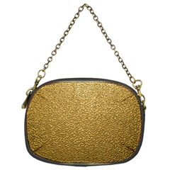 Gold Plastic Chain Purses (two Sides)  by trendistuff
