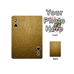 Gold Plastic Playing Cards 54 (mini)  by trendistuff