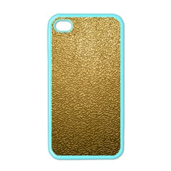 Gold Plastic Apple Iphone 4 Case (color) by trendistuff
