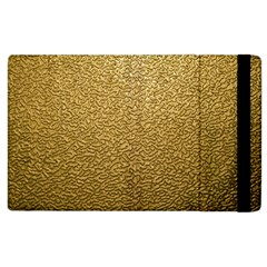 Gold Plastic Apple Ipad 2 Flip Case by trendistuff