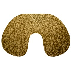 Gold Plastic Travel Neck Pillows by trendistuff