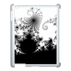 Fractal Apple Ipad 3/4 Case (white) by trendistuff
