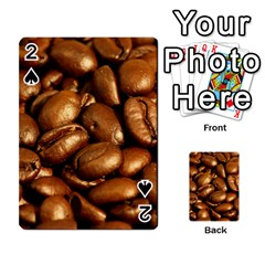 Chocolate Coffee Beans Playing Cards 54 Designs  by trendistuff