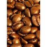 CHOCOLATE COFFEE BEANS Ribbon 3D Greeting Card (7x5)  Inside